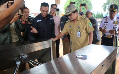 Bupati Banjarnegara Resmikan Sistem E-Ticketing Destinasi Wisata Dieng